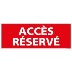 Acces reserve