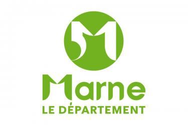 Logo conseil general marne