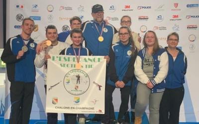 Tir france groupe medailles 14 02 2020